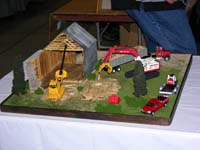 Construction Truck Scale Model Toy Show IMCATS-2005-018-s