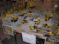 Construction Truck Scale Model Toy Show IMCATS