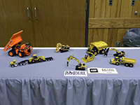 Construction Truck Scale Model Toy Show IMCATS-2012-002-s