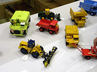 Construction Truck Scale Model Toy Show IMCATS-2012-011-s