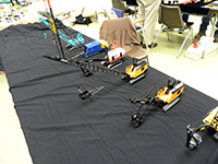 Construction Truck Scale Model Toy Show IMCATS-2012-129-s