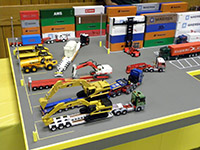 Construction Truck Scale Model Toy Show IMCATS-2012-139-s