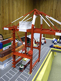 Construction Truck Scale Model Toy Show IMCATS-2012-141-s