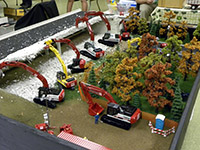 Construction Truck Scale Model Toy Show IMCATS-2013-039-s