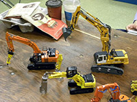 Construction Truck Scale Model Toy Show IMCATS-2013-067-s