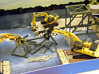 Construction Truck Scale Model Toy Show IMCATS-2013-074-s