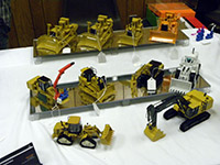 Construction Truck Scale Model Toy Show IMCATS-2013-077-s