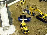 Construction Truck Scale Model Toy Show IMCATS-2013-108-s