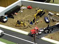 Construction Truck Scale Model Toy Show IMCATS-2013-110-s