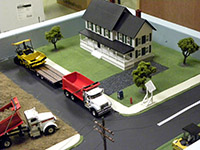Construction Truck Scale Model Toy Show IMCATS-2013-111-s