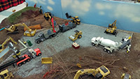 Construction Truck Scale Model Toy Show IMCATS-2016-073-s