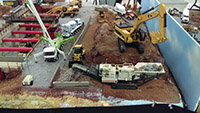 Construction Truck Scale Model Toy Show IMCATS-2016-077-s