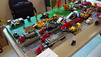 Construction Truck Scale Model Toy Show IMCATS-2016-081-s